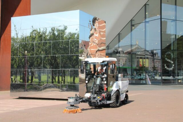 De RECO eTrac is zeer geschikt voor gebruik in stedelijke gebieden